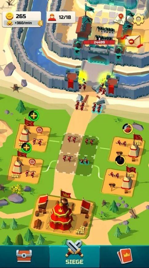 闲置军事基地游戏 截图2