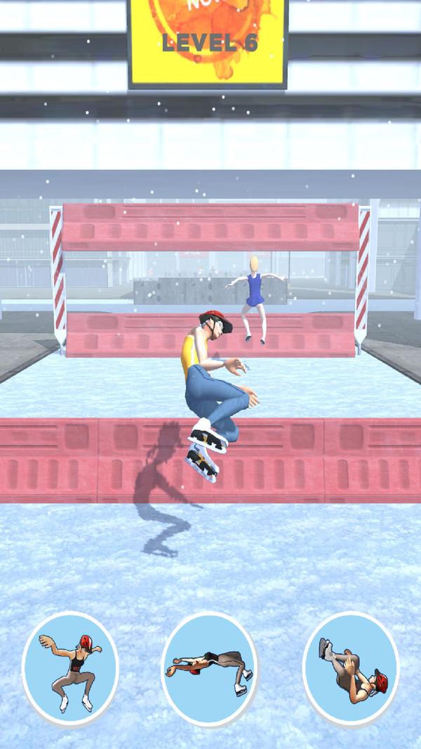 滑冰酷跑游戏 截图1