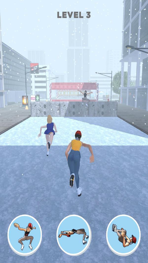 滑冰酷跑游戏 截图2