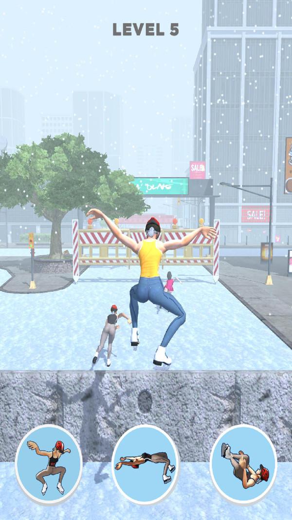 滑冰酷跑游戏 截图4