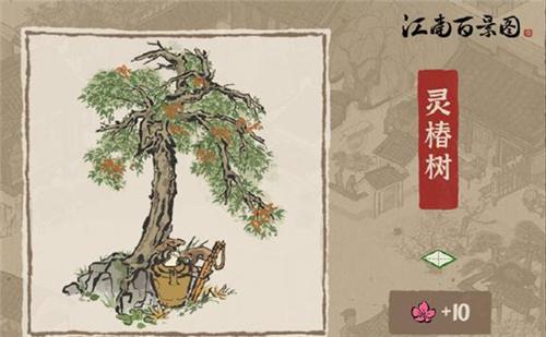 江南百景图灵椿树怎么获得 灵椿树获得攻略介绍