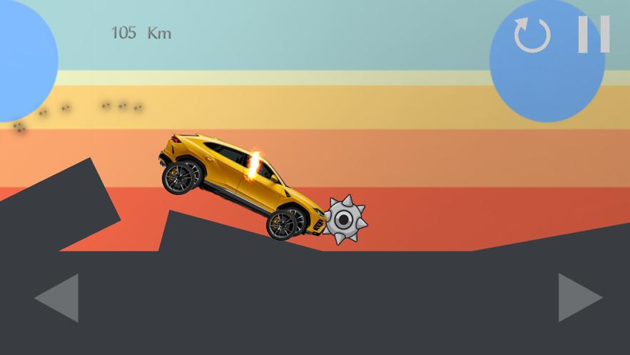 超级跑车越野挑战赛游戏 截图1