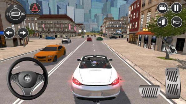美国高速驾驶模拟器游戏 截图2