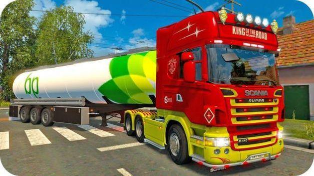 越野山坡油罐车游戏 截图1