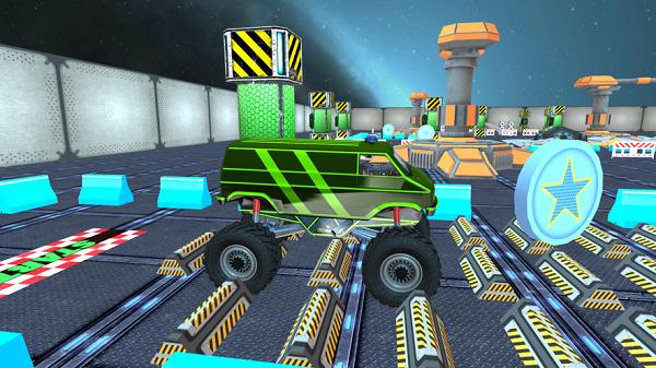 半卡车驾驶员模拟器游戏 截图1