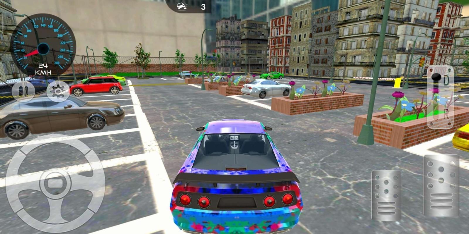 汽车停车场挑战